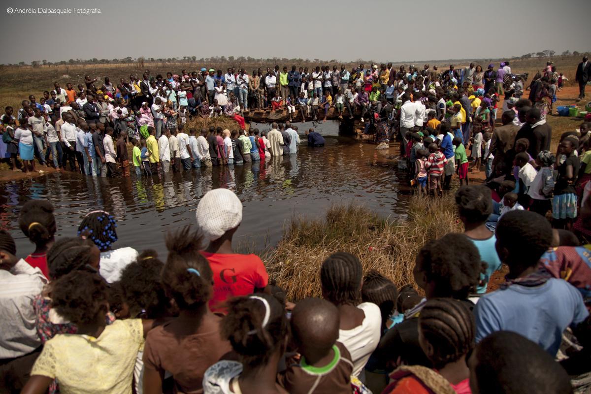 batismos angola