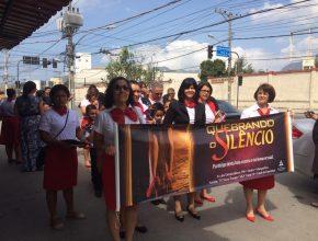 Passeatas em combate a violência da mulher movimenta Magé