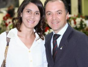 Pastor Emerson e sua esposa, Elaine Campanholo