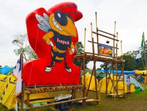 Portal do Clube Irapuã, o maior da ARS, com 72 desbravadores.