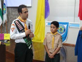 O jovem Yuri tomou a decisão de pertencer a Igreja Adventista do Sétimo Dia.  Foto: Arildo Cappellesso.