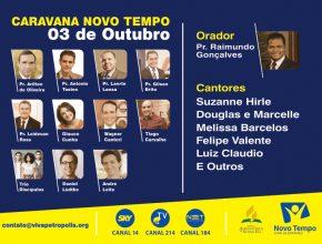 Caravana Novo Tempo em Petrópolis
