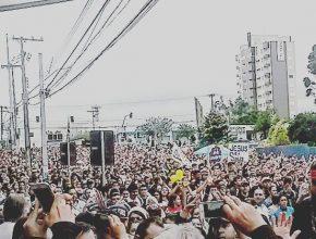 Cinco mil pessoas participaram da Marcha.