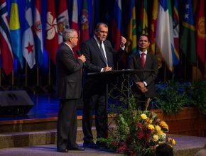 Líderes sul-americanos comentaram agradecidos pela colaboração da organização
