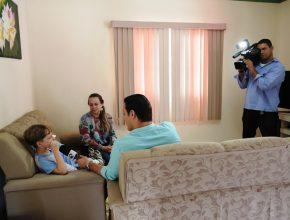 TV Vitória na casa do aluno