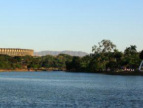 Em Belo Horizonte, corrida é realizada na orla da Lagoa da Pampulha (Foto: Divulgação/Internet)