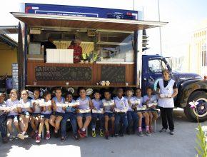 Food Truck AP no Colégio Adventista da Araçariguama.