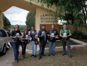 Equipe do Moto Clube Adventista de Sorocaba envolvidos no projeto