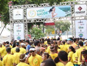 Evento foi realizado na orla da Lagoa da Pampulha, contou com 1,5 mil participantes e foi noticiado pela imprensa mineira (Foto: Aline Soares)