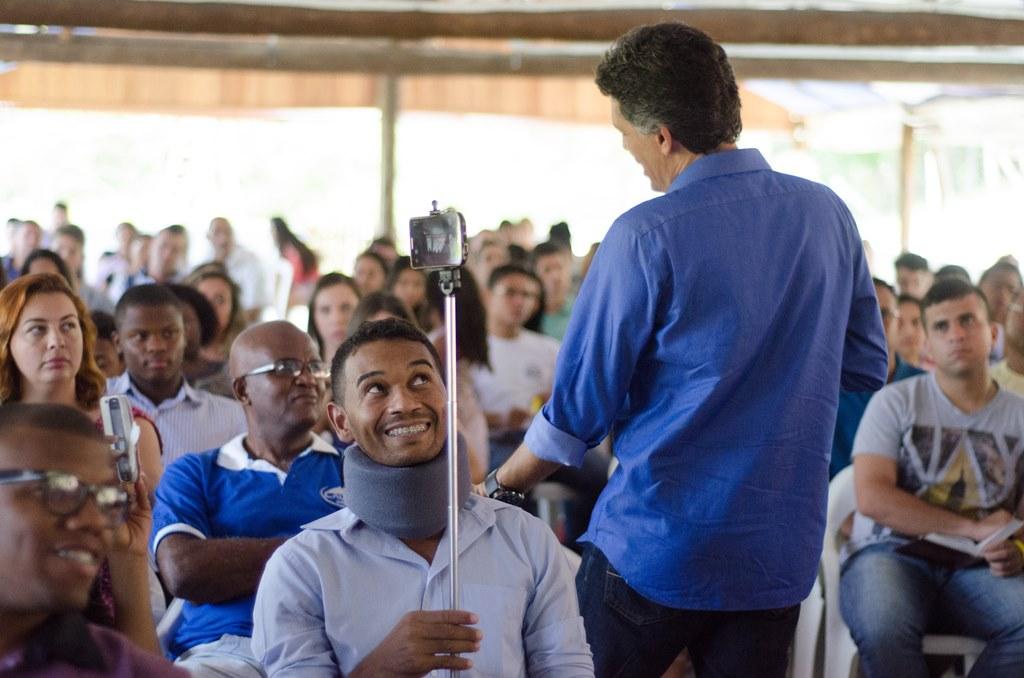 Quase 300 jovens participaram do Radical Camp.