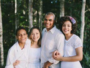 Pastor Elias e família.