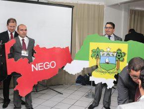 Pastores simbolicamente representam o maior desafio para o próximo ano, a divisão do território - Paraíba e Rio Grande do Norte