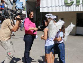Projeto Anjos da Guarda na TV Gazeta - Colégio Adventista de Vitória