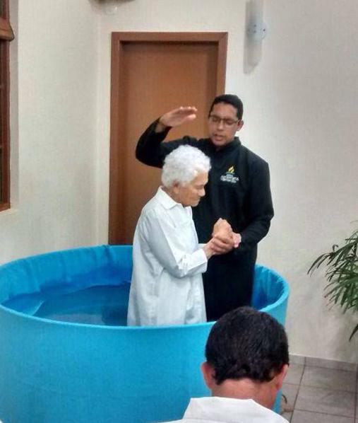 batismo senhora