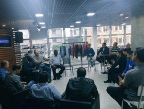 Líderes discutem maneiras de ajudar os refugiados sírios que estão na capital paulista.