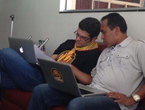Pastor Ivay Araújo estuda área de acampamento