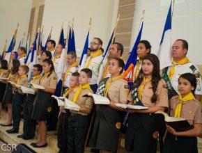 Cerca de 450 líderes participaram do programa.