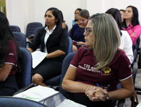 Professoras se preparam para receber os alunos neste ano de 2016.