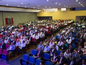 Aproximadamente 700 líderes estiveram reunidos no teatro Dom Bosco, no último final de semana, durante o 1° Concílio de 2016.