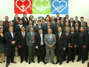 Líderes da ASuR reunidos no primeiro concilio ministerial do ano