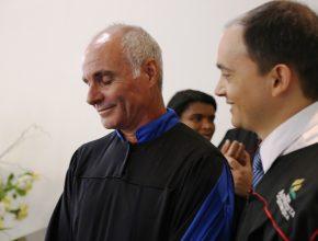 Sérgio Luiz foi batizado