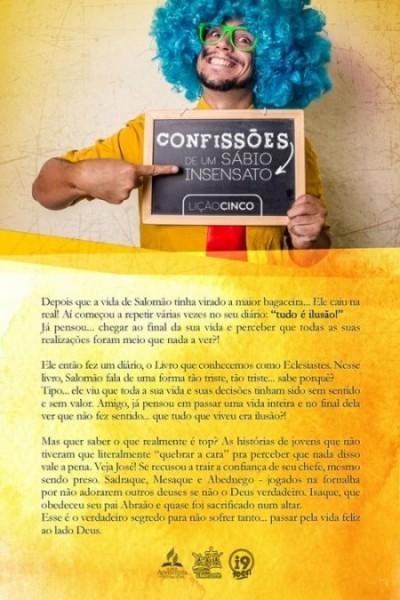 Linguagem simples e concisa para recapitular a lição da Escola Sabatina