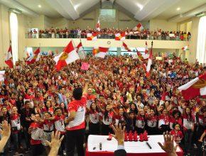 O culto de encerramento mobilizou 1.200 jovens na Igreja Central de Sorocaba