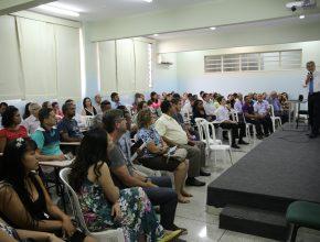 Os líderes de departamentos participam de aulas específicas durante um dia. Foto: Henrique Pirotta