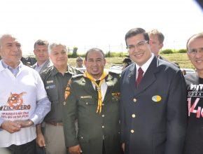 A mobilização contra a dengue, teve a presença do vice-presidente da República, Michel Temer.