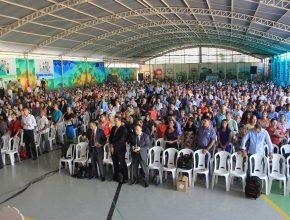 O evento, nas três regiões, reuniu mais de 3.500 pessoas