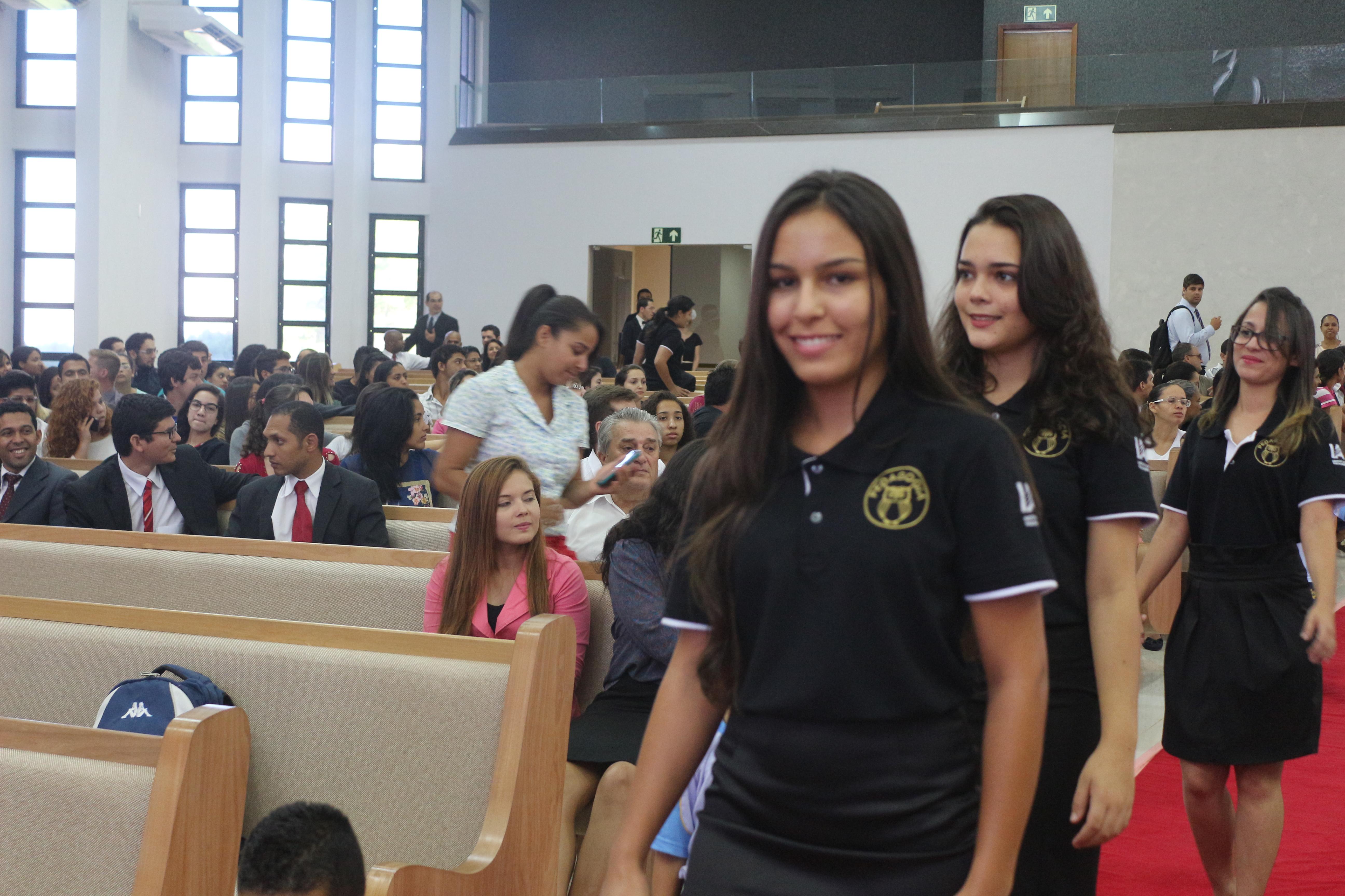 Aula inaugural de pedagogia