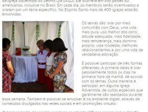 10 Dias de Oração - A Gazeta