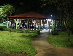 Culto pôr-do-sol no parque Santos Dummont