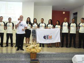 Apresentação dos voluntários aos fieis da igreja em Uberaba foi realizada no sábado (5)  (Foto: Harley França)