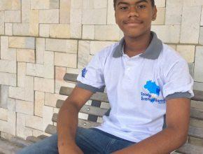 Gustavo é o mais jovem evangelista da Missão Sergipe