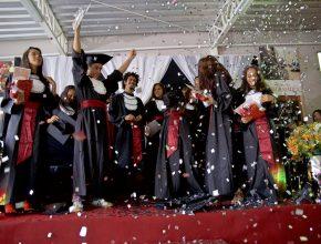 Cerimônia da formatura do Talentos em Missão.