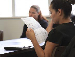 No primeiro passo, após os exames, os participantes receberam orientações quanto ao resultado.
