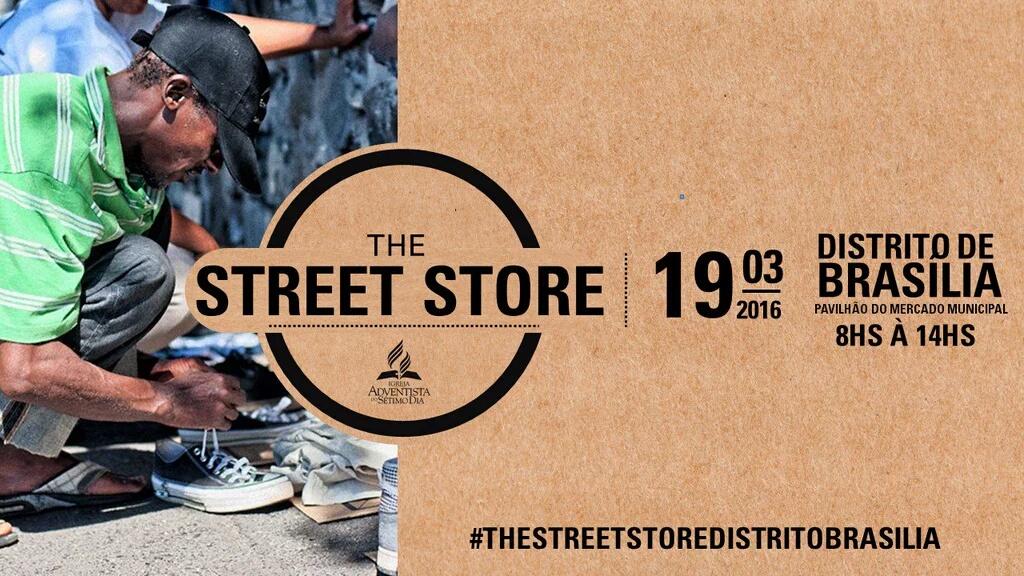 Centenas de voluntários atuarão na primeira edição do The Street Store do interior de Sergipe