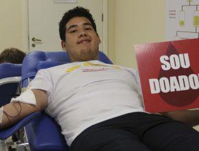 Em uma tarde, os adventistas completaram o banco de sangue do Hemepar.