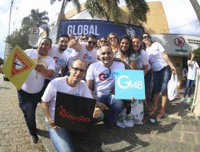 A doação envolveu jovens da região sul e central do Paraná.