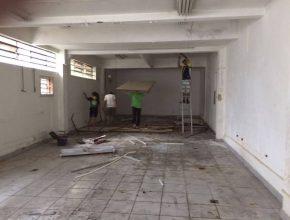 A próxima etapa do mutirão de limpeza do prédio acontece no dia 25 de março, sexta-feira.