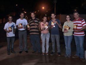 Iniciativa foi realizada por fieis da Igreja Adventista em Uberaba (MG) (Foto: Harley França)