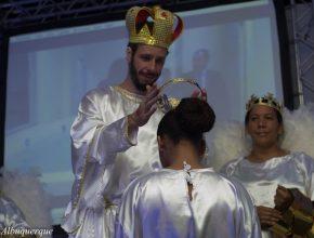 Encenação finalizou com a volta de Jesus.