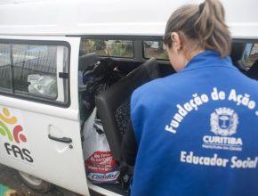 O espaço foi reformado por voluntários da Igreja Adventista de Curitiba