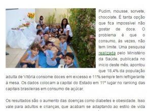 2604 - Professora cria projeto para lancheira saudável na Serra