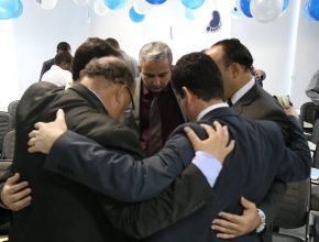 Pastores participaram do lançamento e saíram motivados a realizar o Projeto em suas igrejas.