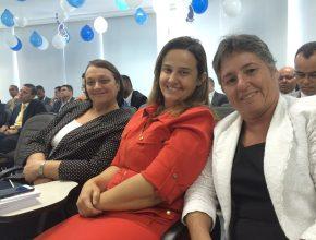 Líderes presentes: xxxx, Fabíola Guedes e Rosalia Alencar.
