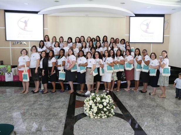 Foram 42 esposas de pastores participando do Concílio AFAM no CATRE Satulina, em Itatiaia-RJ.