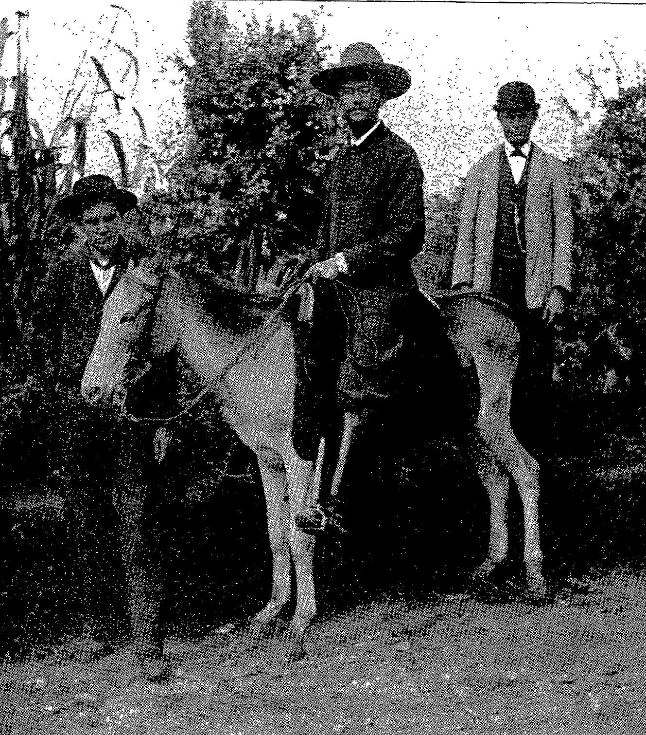 Certa vez, o pioneiro chegou a viajar a cavalo por 300 dias durante um ano.