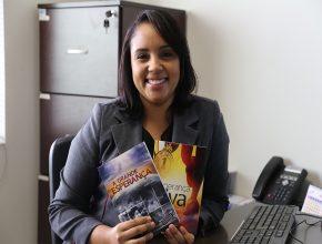 """Rafaela Persan afirma que o livro """" Grande Esperança"""" mudou sua vida"""